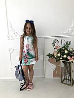 """Летнее стильное платье """"Эльза"""" от производителя, фото 1"""