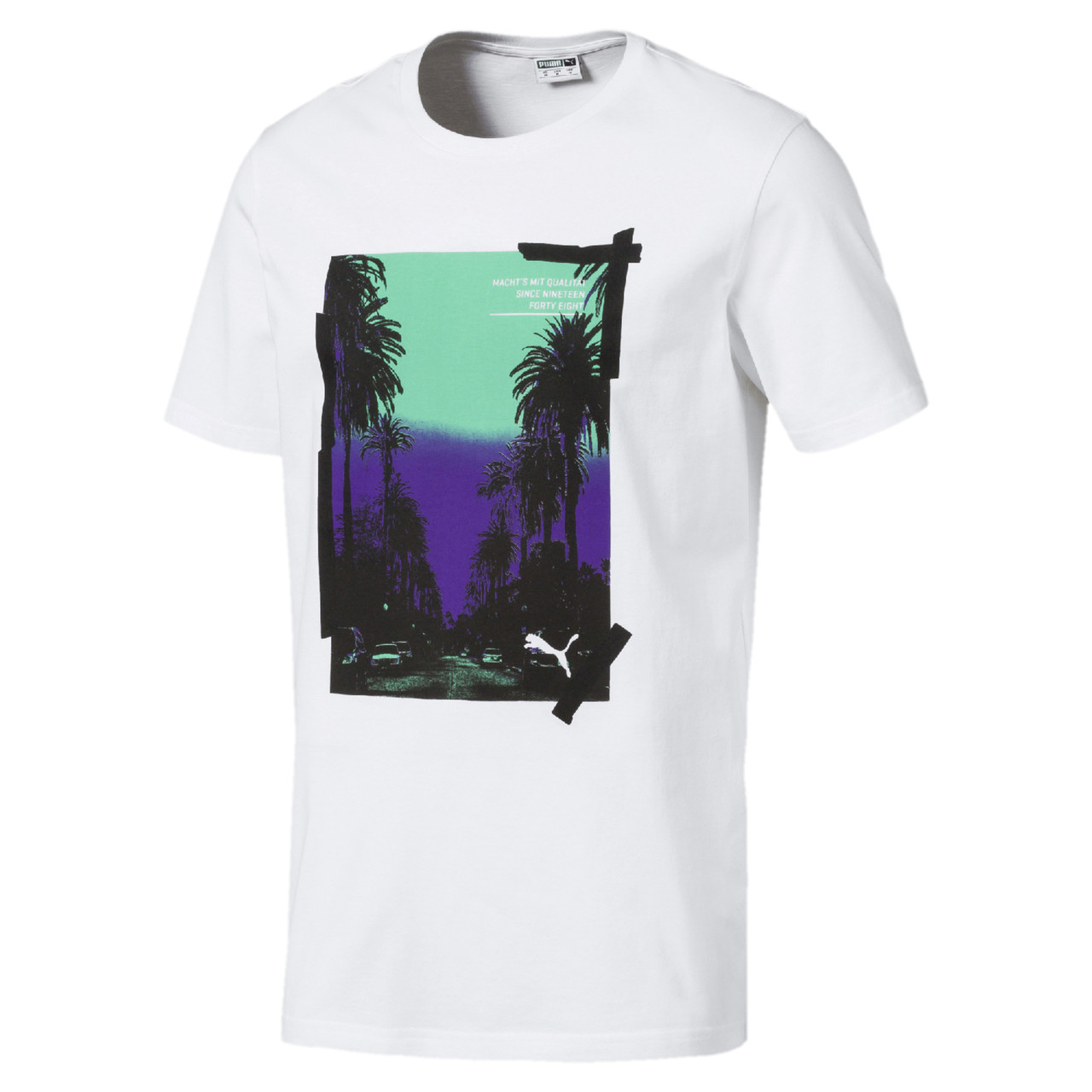 Мужская спортивная футболка Graphic Palms Photo Tee