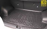 Коврик в багажник для Hyundai Tucson 2015-2019  резиновый (AVTO-Gumm)