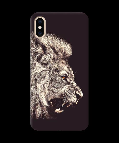 Чехол с рельефным принтом Lion