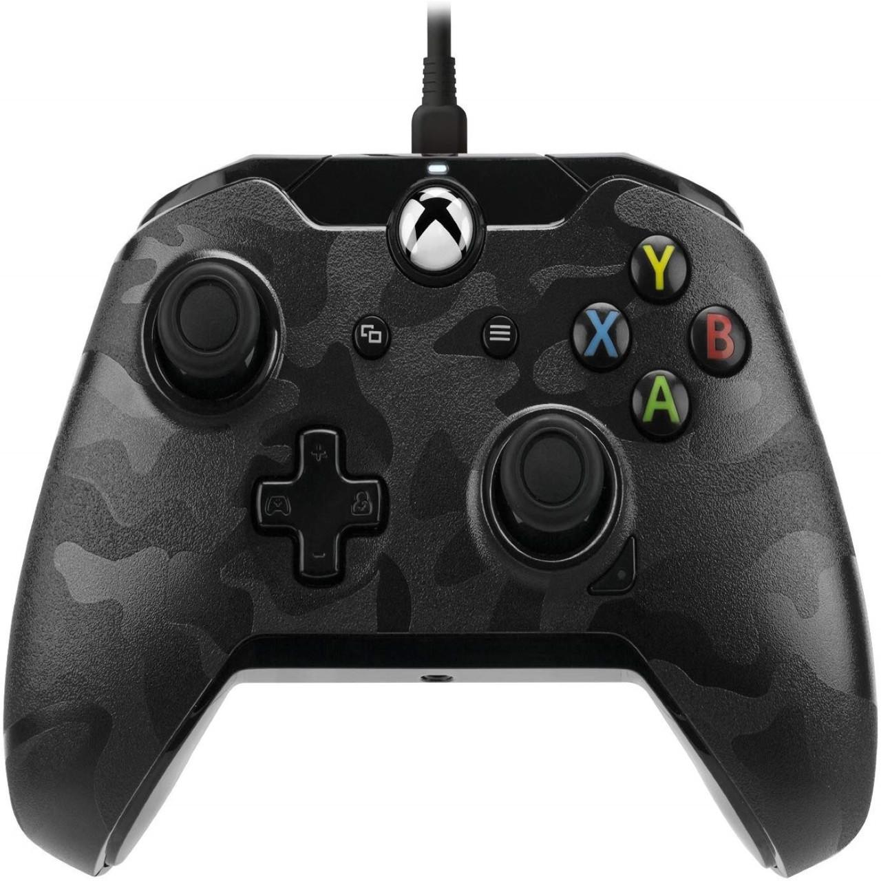 Геймпад (джойстик) Microsoft Xbox ONE,PC Wired Controller PDP XO Black-Camo (провідний)