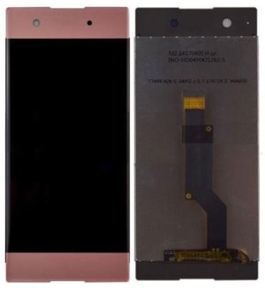 Дисплей (экран) для Sony G3121 Xperia XA1 Dual с сенсором (тачскрином) розовый