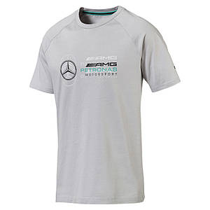 Мужская спортивная футболка MERCEDES AMG PETRONAS Men's Logo T-Shirt