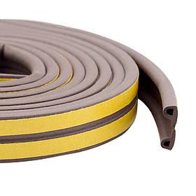 Уплотнитель самоклеящийся Technics тип Р коричневый 100 м (10-778)