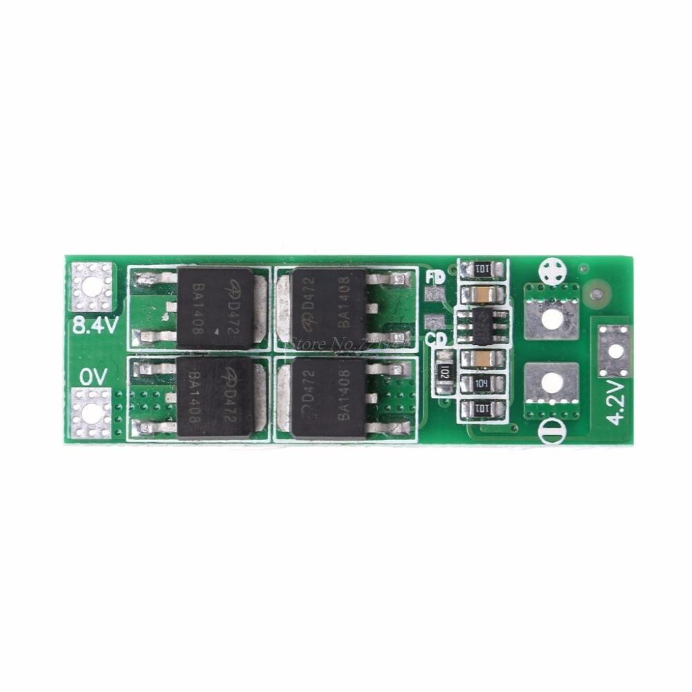 BMS контроллер (плата защиты li-Ion) 2S 20A