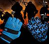 Перчатки для велоспорта, фитнеса мужские, женские (Morethan) Синие, M
