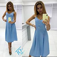 """Стильное платье """" Лён """" Dress Code , фото 1"""