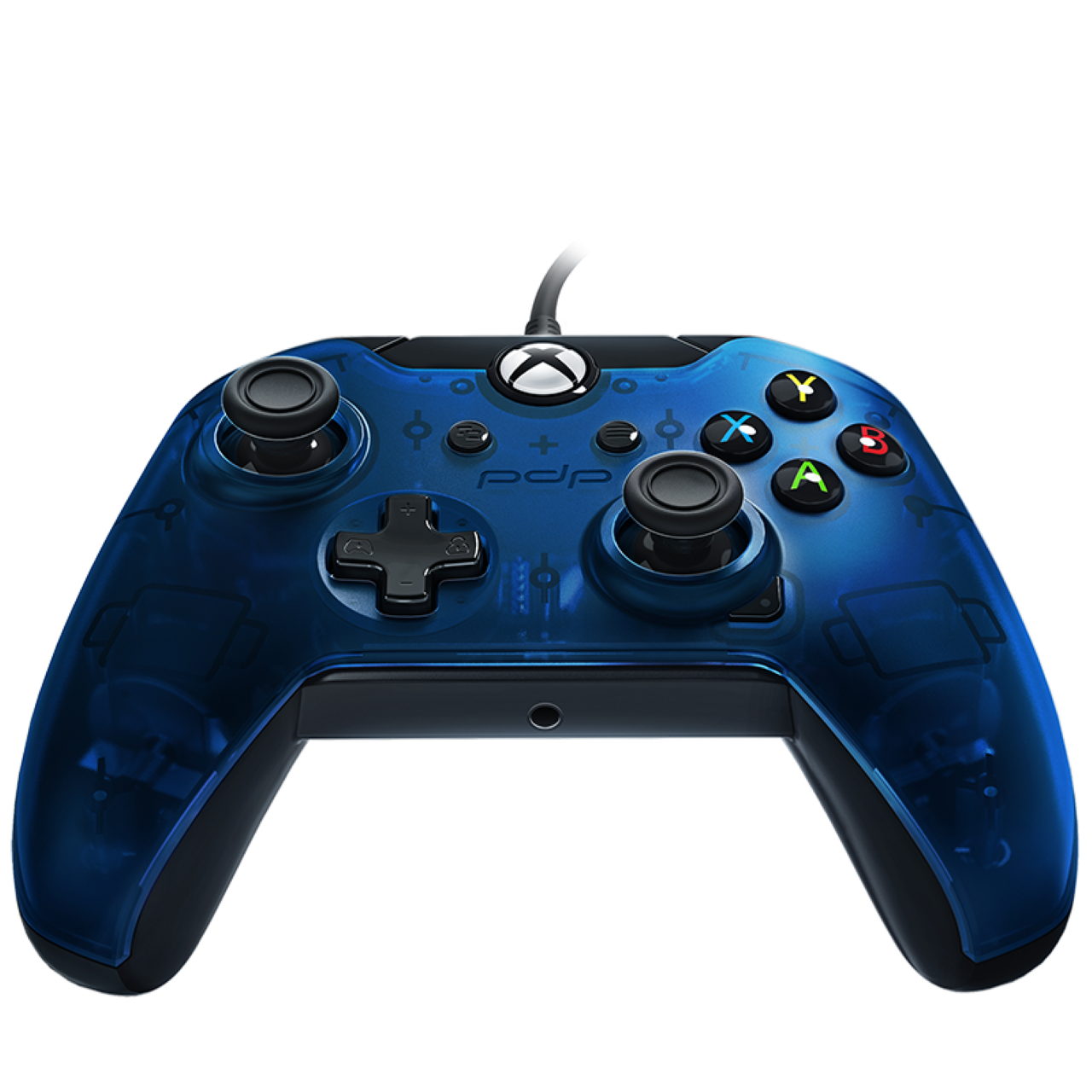 Microsoft Xbox ONE,PC Wired Controller PDP XO Blue (провідний)