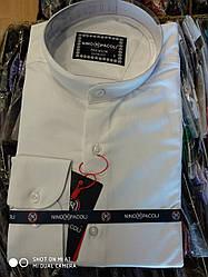 Рубашка мужская Giovanni Fratelli стойка воротник