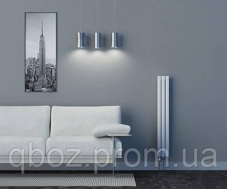 Высокие дизайнерские стальные радиаторы EliTerm LINX высота - 1000 мм, фото 2