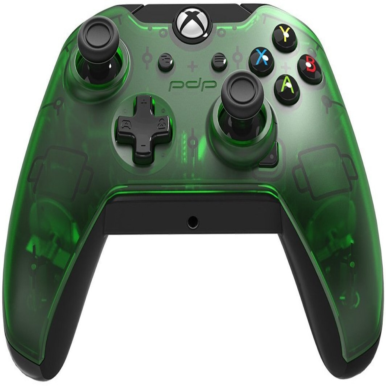 Microsoft Xbox ONE,PC Wired Controller PDP XO Green (провідний)