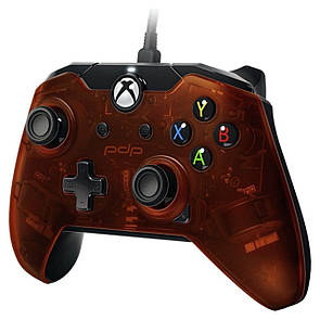 Геймпад (джойстик) Microsoft Xbox ONE,PC Wired Controller PDP XO Orange (провідний)