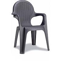 Кресло Intrecciata антрацит производство Италия