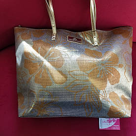 Пляжна золотиста сумка ARMATA DI MARE