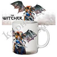 Чашка с принтом Ведьмак