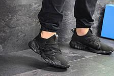 Мужские летние кроссовки Adidas,черные,сетка 44,45р, фото 3