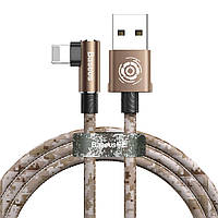 Кабель USB Baseus Camouflage mobile game to Lightning 1m, Brown (CALMC-A12), фото 1
