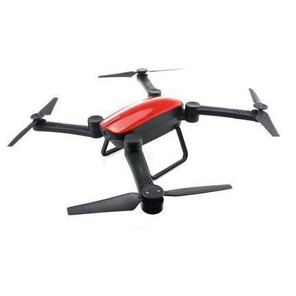 Квадрокоптер X9TW c WiFi камерой, на пульте, складной корпус, радиоуправляемый летающий дрон, фото 2