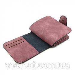 Женский замшевый кошелек Baellerry Forever Mini (12 х 11 х 2,5 см) Бордовый
