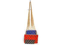 Мини сумка - Сумка для вечеринок - Сумка на плечо-  Авоська - Золото - Подарочная сумка