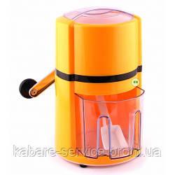 Ледомолка(измельчитель льда ручной), желтая, пластик, Co-Rect