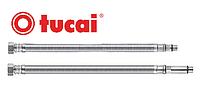 """Шланг для воды в нерж оплётке Tucai 3/8"""" М10 60 см игла длинная и короткая ПАРА (гайка-М10 в смеситель)"""