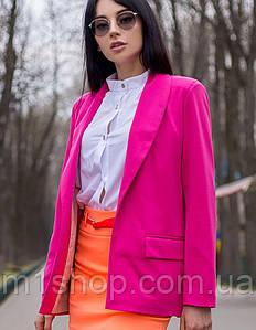 Женский однотонный пиджак (м540 mrb)