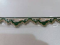 Бордюр обойный 4 см (зеленые)