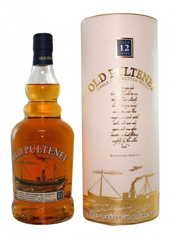 Виски Old Pulteney 12 y.o. (Олд Палтни 12 лет ) 40%, 0.7 литра