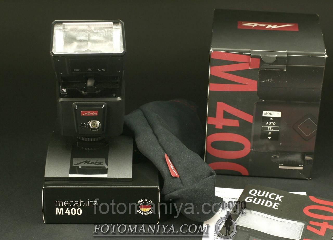 Metz M400 для Fujifilm X-series