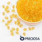 Бисер Preciosa Twin 01182, Прозрачный, Размер: 2,5х5мм, Цвет: Оранжевый (УТ0027093)
