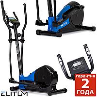 Эллиптический тренажер MX400 black. Магнитный, до 120 кг, Орбитрек, тренажер для ягодиц,
