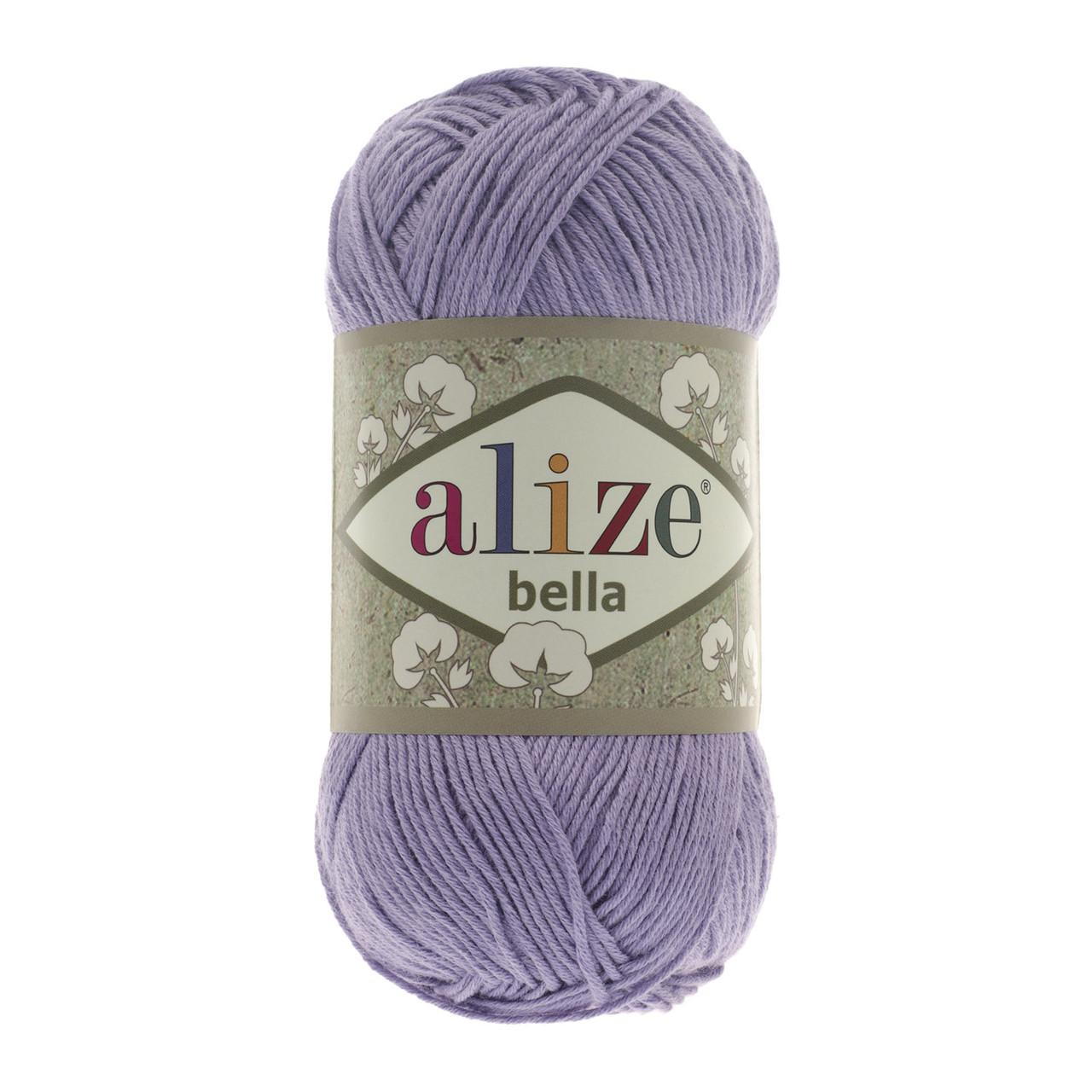 Пряжа хлопок Alize Bella 158