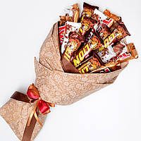 Подарочный набор из шоколада / букет из конфет / букет з цукерок / набор сладостей / сладкий букет