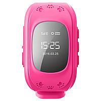 Детские умные часы smart baby watch q50 Розовые ОРИГИНАЛ с gps трекером
