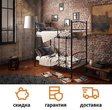 Двухъярусная металлическая кровать Виола фабрика Tenero, фото 2