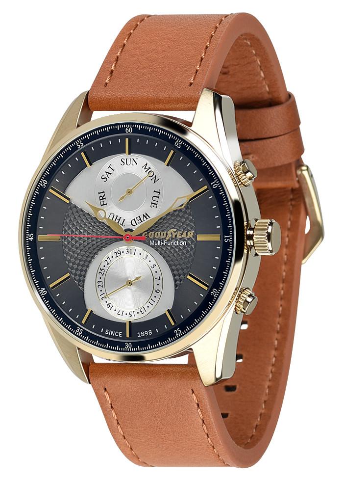 Часы мужские Goodyear G.S01213.01.03 коричневые