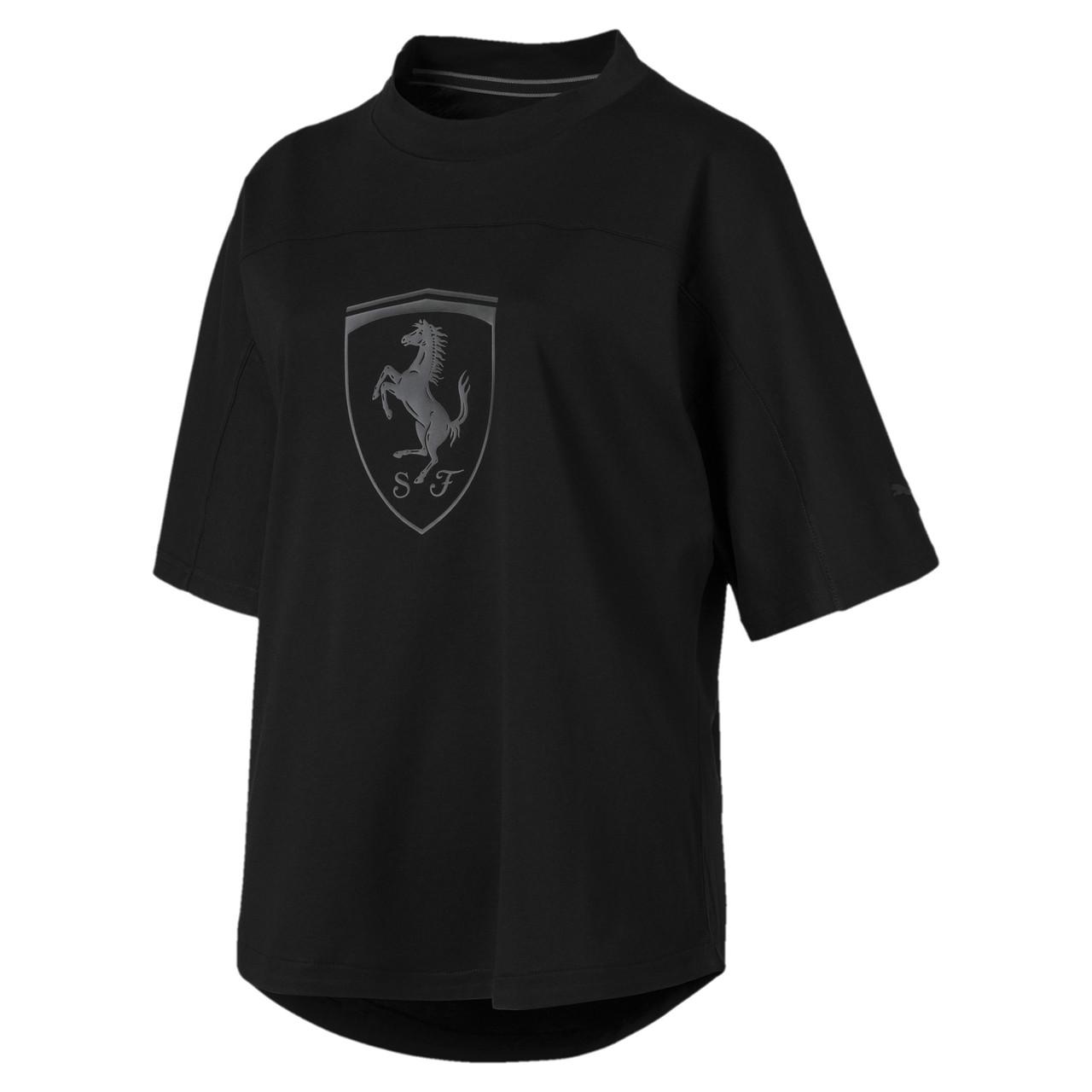 Женская Женская спортивная футболка Ferrari Wmn Big Shield Tee