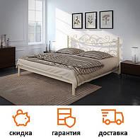 Кровать металлическая Азалия с высоким изголовьем фабрика Tenero