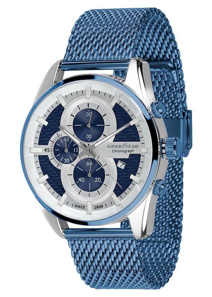 Годинники чоловічі Goodyear G. S01229.01.05 сині