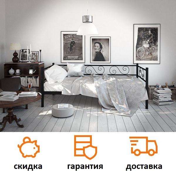 Металлическая кровать Амарант фабрика Tenero