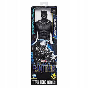 Игрушка Hasbro Черная Пантера серия Титаны 30СМ - Black Panther, Titan Hero Series (E1363)