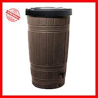 Емкость для сбора дождевой воды Prosperplast Woodcan 265 л коричневая
