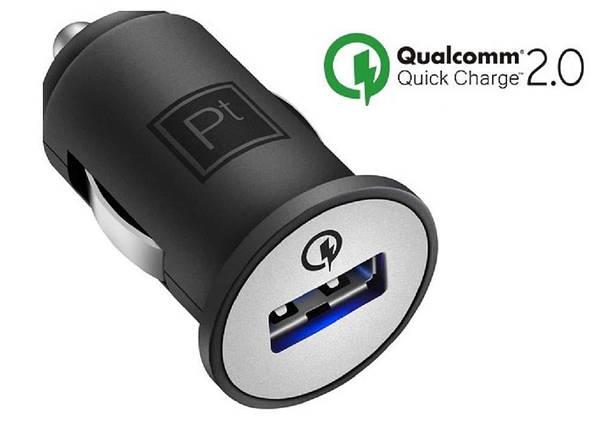 Автомобильное зарядное устройство Platinum 2.0 Quick Car Chargers, фото 2
