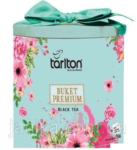 Чай чёрный Tarlton Buket Premium Букет Премиум 100г ж/б