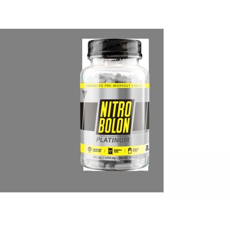 Предтренировочный комплекс Trec Nutrition Nitrobolon Platinum 120 caps