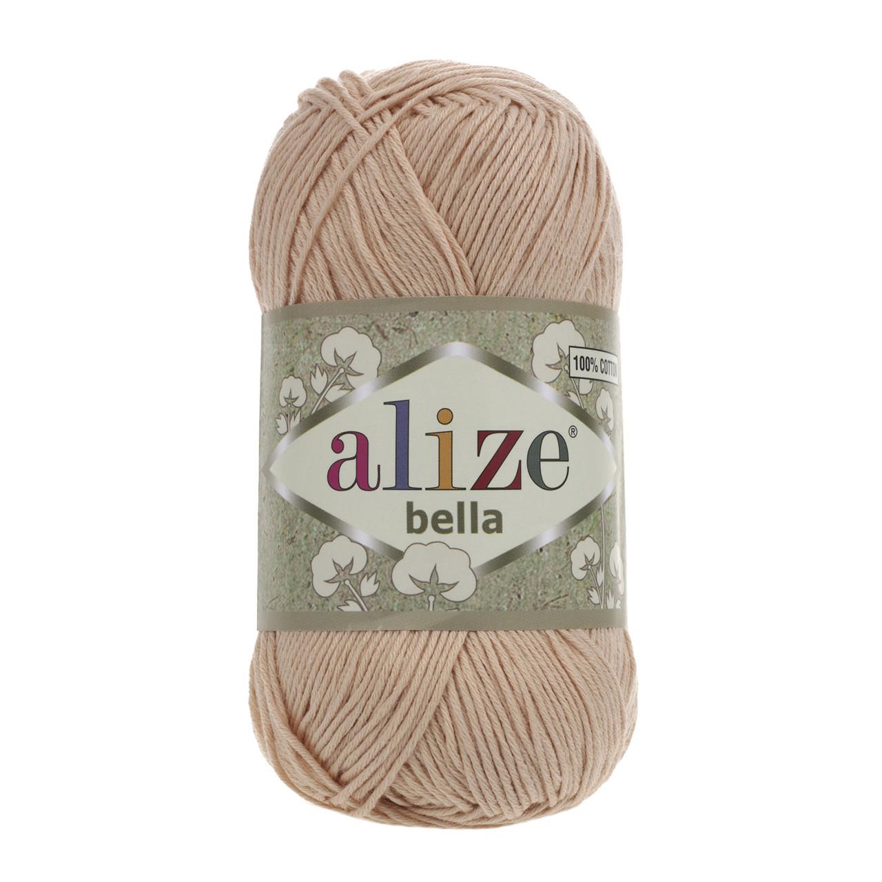 Пряжа хлопок Alize Bella 417