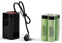 Велосипедный аккумулятор solarstorm  для  фары 8,4В 4х18650 на 6400mAh