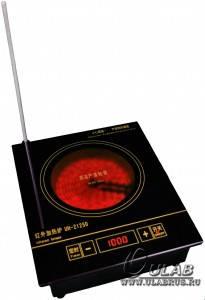 Нагревательная лабораторная плита Ulab UH-2125D, фото 2