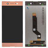 Дисплей (экран) для Sony G3223 Xperia XA1 Ultra Dual с сенсором (тачскрином) розовый Оригинал, фото 2